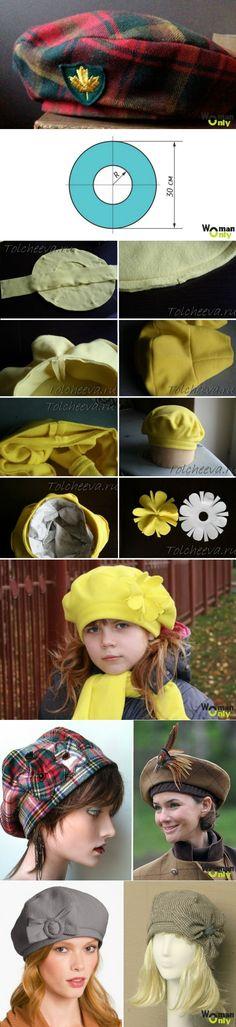 Patron couture bonnet pour fille
