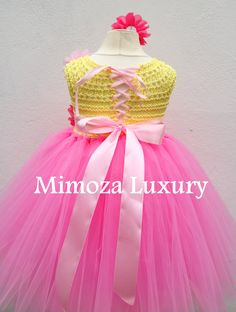 Pink Lemonade Birthday Dress Infant Baby Girl Dress Pink
