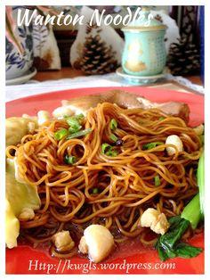 Wanton Noodles (云吞面)  #guaishushu #kenneth_goh  #wanton_noodles  #云吞面