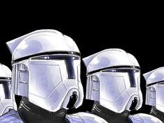 Phase One Clone Trooper Concept Art Variant Clone Trooper Helmet, Star Wars Helmet, Star Wars Rpg, Star Wars Clone Wars, Star Wars Episode 2, Arte Alien, Star Wars The Old, Star Wars Design, Starwars