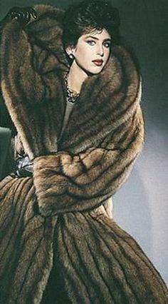 Vintage Fur Fashions, Shop Bridal. Formal. Retro. Furs at LuxuryVintageGirl.com - Bridal Fur Shop | LuxuryVintageGirl.com | Vintage Furs | Wedding Fur Stoles | Winter Wedding Fur Shawls | Dream Wedding Furs | Mink Stoles | Bridal Jackets | Fur Coats Moda Vintage, Vintage Fur, Vintage Bridal, Vintage Glamour, Winter Wedding Fur, Sable Fur Coat, Women Church Suits, Fabulous Furs, Mode Chic