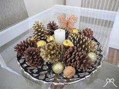 decoração com pinhas - Pesquisa Google