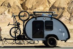 Jeep camping trailer tear drops ideas for 2019 Jeep Camping Trailer, Small Camper Trailers, Teardrop Camper Trailer, Off Road Camper Trailer, Small Trailer, Car Camper, Small Campers, Mini Camper, Camper Caravan