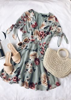 Floral Dress #Floral #dressescasualspring
