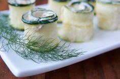 "Zucchini Roll-ups with Nutty ""Ricotta"" Filling #vegan #recipe via Vegalicious!"