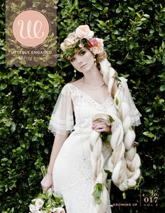 Utterly Engaged magazine november/2011 #wedding #free   My sister worked on the flowers in the cover photo shoot!