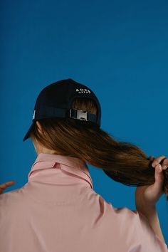 A cap navy  www.adererror.com  #ader #fashion #brand #cap #blue