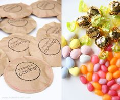 Cool party favor idea. Could be with any color paper and any kind of stamped image. So quick and AWESOME!
