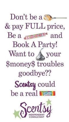 Spend your money wise with Scentsy