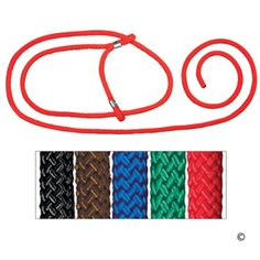 Braided Rope Halters for Sheep & Goats