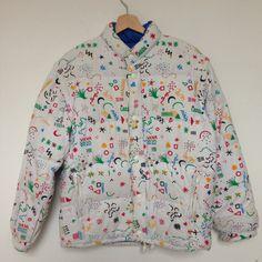 Giubbino da Paninaro Gigi Rizzi con stampa Naj Oleari Athletic, Shirt Dress, Mens Tops, Jackets, Shirts, Google, Dresses, Vintage, Style