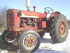 old tractor vintage