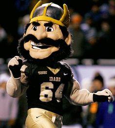 Idaho Vandals mascot - Joe Vandal