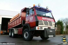 STEYR  6x6 kippertruck van Hovenga Road Transport, Steyr, Heavy Machinery, Heavy Truck, New Holland, Car Brands, Classic Trucks, Old Trucks, Volvo