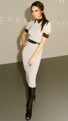 April 22, 2012 | From the street to the red carpet, see Victoria Beckham's most stylish looks ever.