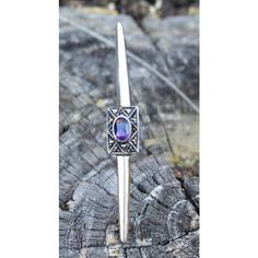 Vintage Amethyst Marcasite Sterling Silver Pin, Purple Silver... ($29) ❤ liked on Polyvore featuring jewelry and brooches