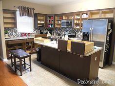Sleek Dark Chocolate Painted Cabinets! – Remodelaholic