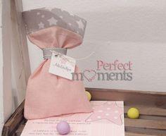 Μπομπονιέρα Πουγκί ροζ με αστέρι Burlap, Reusable Tote Bags, Hessian Fabric, Jute, Canvas