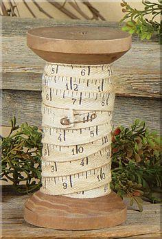 """EKP11071 Measuring Tape Ribbon Spool  Size: 5¾"""" Tall 10 Ft. of Ribbon"""