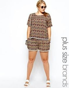 Earthy tones are lovely. I love short sets likes this one.