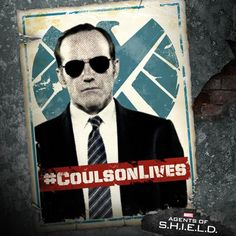 Some heroes prefer the tailored look. #CoulsonLives
