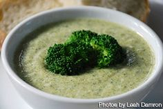 A lightened up Broccoli Soup