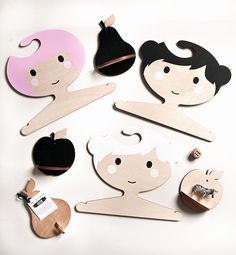 Etsy finds: super fun hangers & wall shelves for kids - love!