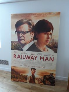 Poster for 'Railway Man' movie in Granary Gallery in Berwick upon Tweed: Part of the movie was shot in Berwick upon Tweed: http://www.europealacarte.co.uk/blog/2012/05/11/the-railway-man-filmin-berwick-upon-twee/