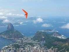 Photograph by Paul Springett, Alamy Rio de Janeiro, Brazil Christ The Redeemer Statue, Hang Gliding, Quebec City, National Geographic, Adventure Travel, Airplane View, Brazil, Beautiful Places, Vacation Travel