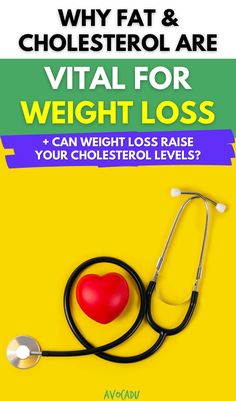 If you're trying to take control of your health, you might be concerned about your cholesterol levels—but could trying to lower your cholesterol actually keep you from losing weight? And is high cholesterol really a sign of poor health? Find out in our latest article here! #avocadu #cholesterol #fat #weightloss High Cholesterol Levels, Lower Your Cholesterol, Weight Loss Drinks, Healthy Weight Loss, Losing Weight, Weight Gain, Weight Loss Journey, Weight Loss Tips, Low Fat Diets