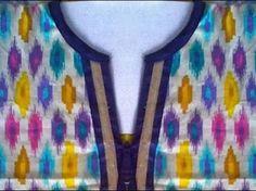 neck pattern for kurtis - Google Search