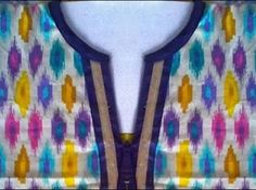 neck pattern for kurtis - Google Search