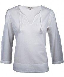 roberta organic fashion - Alma and Lovis-Lässige Tunika in Weiß