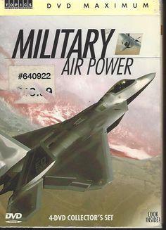 Military Air Power (DVD, 2006) 4-Disc DVD Set