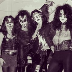 """""""ABC In-Concert"""". Aquarius Theatre, Los Angeles, California. 21 February #1974 (show aired 29 March #1974) #KISS #kissarmy #kissband #kissnation #genesimmons #paulstanley #acefrehley #petercriss"""