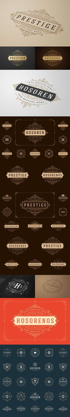 700 Retro Vintage Logotypes and Badges - 4