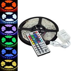 5050 5M RGB SMD LED STRIP with IR Remote - 13.97 - bought from ebay