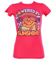 Ladies Powered By Sunshine Little Miss T-Shirt from Junk Food