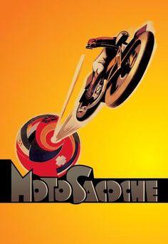 MotoSacoche 20x30 poster