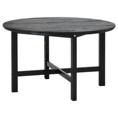 ÄNGSÖ Bord - brunsvart - IKEA Passer kanskje til de stolene vi allerede har...?