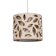 Botanical Leaf cut-out pendant from Dunelm