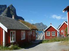 Welcome to Reine Rorbuer, Reine i Lofoten, Norway Stavanger, Lofoten, Finland, Denmark, Places To Visit, Cabin, Architecture, House Styles, City