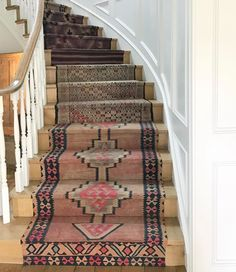 Beautiful A Stair Runner Solution For When You Want To Spend Less.