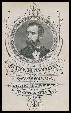 Wood, Photographer; vintage branding