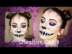 Cheshire Cat Makeup Tutorial | Alice In Wonderland - YouTube