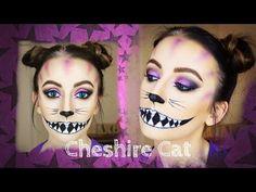 Cheshire Cat Makeup Tutorial | Alice In Wonderland - YouTube