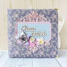Дизайнерский фотоальбом для молодоженов в подарок Наша Свадьба ручной работы для…