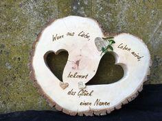 Geschenke zur Hochzeit - 9er´sche HOLZ- und SCHMUCK- WERKSTATT