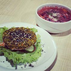 Raw vegan food in Perm, Russia