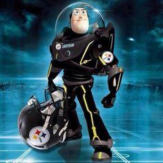 Pittsburgh Steeler...Buzz Lightyear